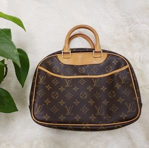 Louis Vuitton Initial Monogram Trouville Handbag